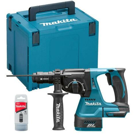 Perforateur burineur SDS-Plus 18V Li-Ion BL (Machine seule) dans coffret Makpac - MAKITA DHR243ZJ