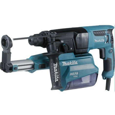 Perforateur-Burineur SDS-plus 800W MAKITA - Ø26mm - malette de transport + accessoires - HR2650JX14