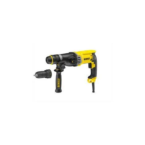 Perforateur DEWALT SDS Plus 28mm + Poignée + butée de profondeur et mandrin - D25144K