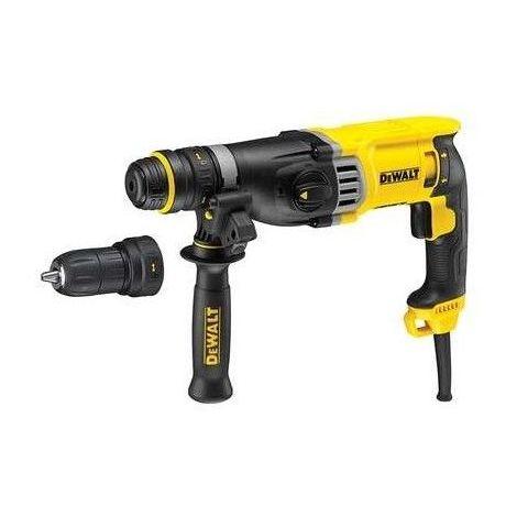 Perforateur DEWALT SDS-plus 3J 28 mm + 9 accessoires offert