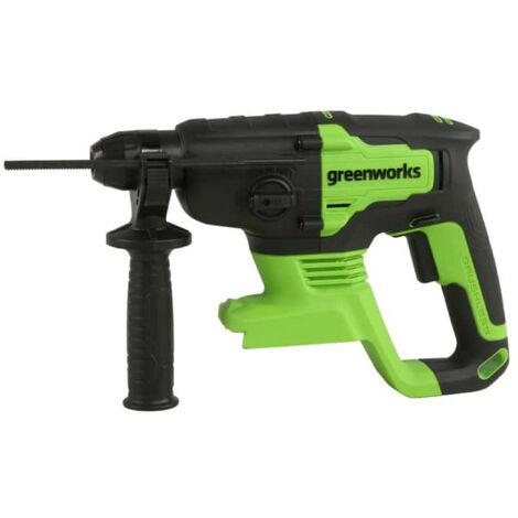 Perforateur GREENWORKS 24V Brushless - Sans batterie ni chargeur - GD24SDS2