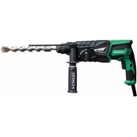 Perforateur HITACHI - HIKOKI 26 mm SDS Plus 830 W 3,2 Joules - DH26PB