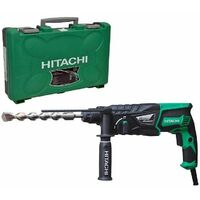 Perforateur HITACHI - HIKOKI SDS+ 830W 26mm 3.2J + mandrin - DH26PBZ