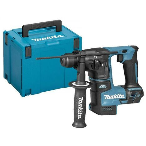 Perforateur Makita SDS-Plus 18 V Li-Ion 17 mm en coffret MakPac 3 – DHR171ZJ
