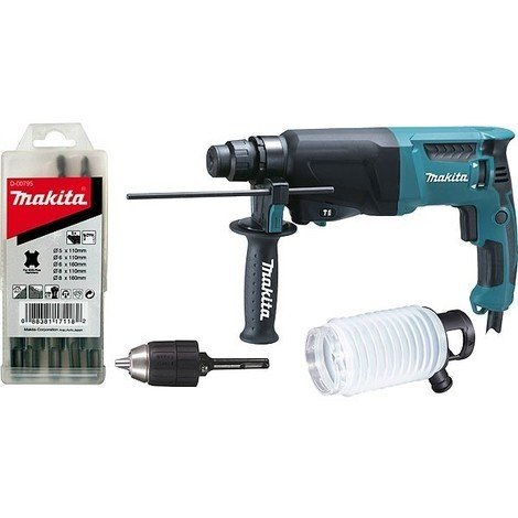 Perforateur MAKITA SDS-Plus 800 W - HR2600X9