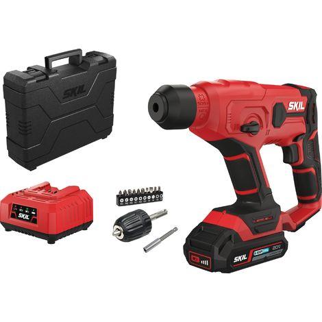 Perforateur sans fil 3810 18 V - Skil - Rouge
