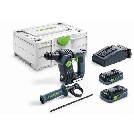 Perforateur sans fil BHC 18 HPC 4.0 I-Plus FESTOOL - 576513