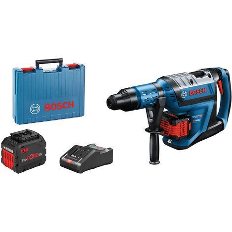 "main image of ""Bosch Professional Perforateur sans-fil BITURBO avec SDS max GBH 18V-45 C, 2 x batteries ProCORE18V 12.0Ah - 0611913002"""