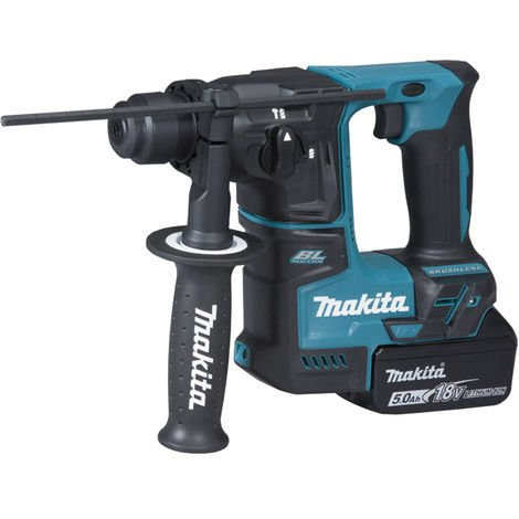 Perforateur SDS+ 18V Li-Ion 5.0Ah 17mm MAKITA - DHR171RTJ