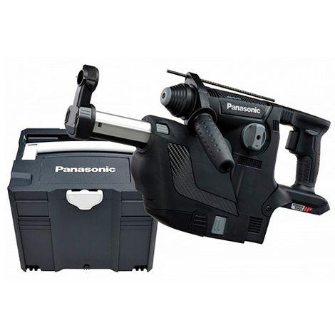 Perforateur SDS+ 3,3 Joules sans fil 28,8V (sans batterie, ni chargeur) Panasonic + aspiration amovible - EY7881XV - Alsafix - -