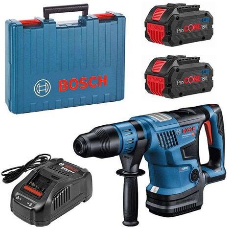 Perforateur SDS-Max GBH18V-36 C BOSCH 2X8.0Ah +GAL1880CV - 0611915002