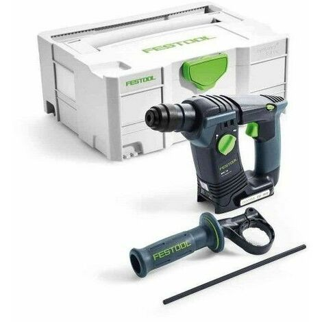 Perforateurs FESTOOL BHC 18 Li - Sans batterie, ni chargeur - En coffret Systainer 2 - 574723
