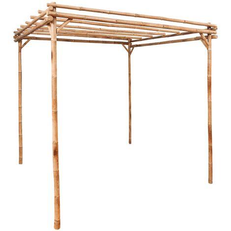 Pergola Bamboo 170x170x220 cm