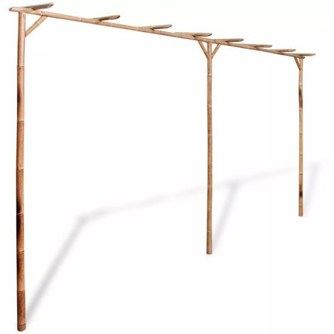 Pergola Bamboo 385x40x205 cm