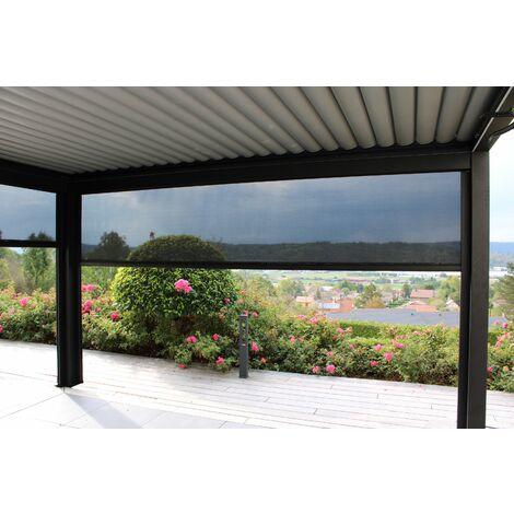 Pergola Bioclimatique EVENT PREMIUM 4x3m, électrique, éclairage LED intégré. Qualité PRO