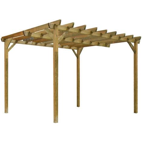 pergola bois durapin juzina ind pendante en pin marron. Black Bedroom Furniture Sets. Home Design Ideas