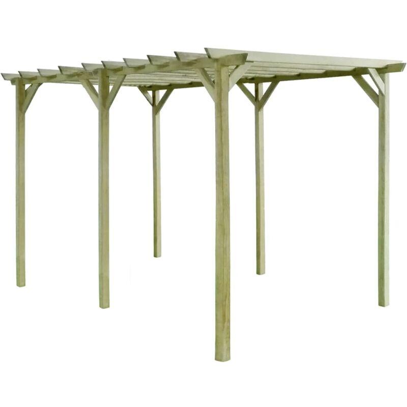 Zqyrlar - Pergola de jardin 4 x 2 x 2 m Bois de pin imprégné