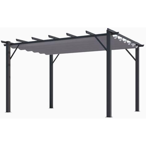 Pergola en aluminium 12 m²
