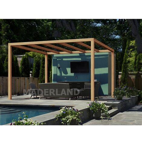 Pérgola Madera Santander Maderland 500x300 cm