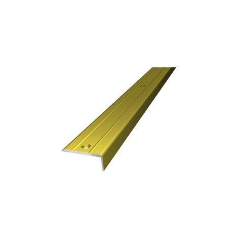 Perhilo de esquina de aluminio 25x10mm 100cm gold