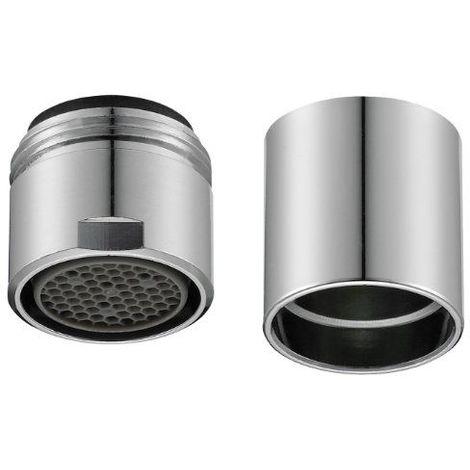 Perlator 11001198 Embout de robinet pour contrôle de consommation de l'eau, pour robinet design Chromé M16/18