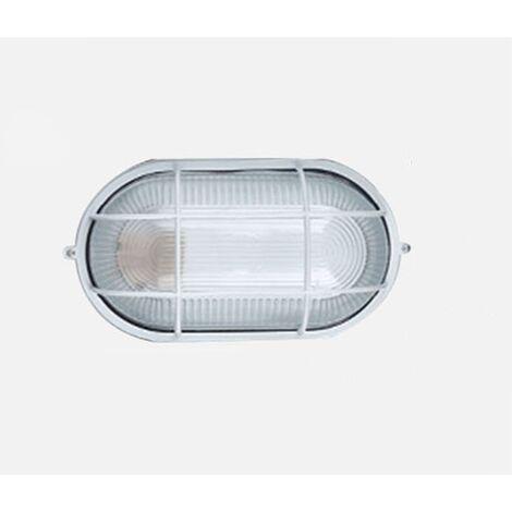 Perle rare Applique de plafond pour salle de sauna LED Lampe étanche à l'humidité Ronde Sous-sol Garage Atelier Entrepôt Lampe anti-poussière Arbre de salle de bains Sauna Applique de plafond pour salle de bains