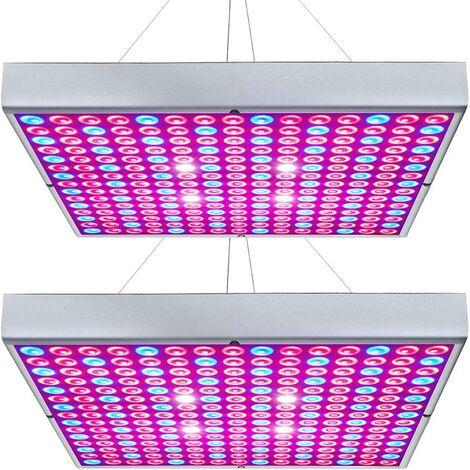 Perle rare Éclairage des plantes, lumière de croissance des plantes, lumière de remplissage LED à spectre complet de 45 W, 2 pièces