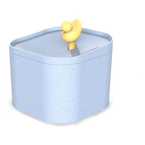 Perle rare Fontaine à boire automatique pour chat Fontaine à boire pour chat Filtre de circulation à débit USB Plug-in Bleu