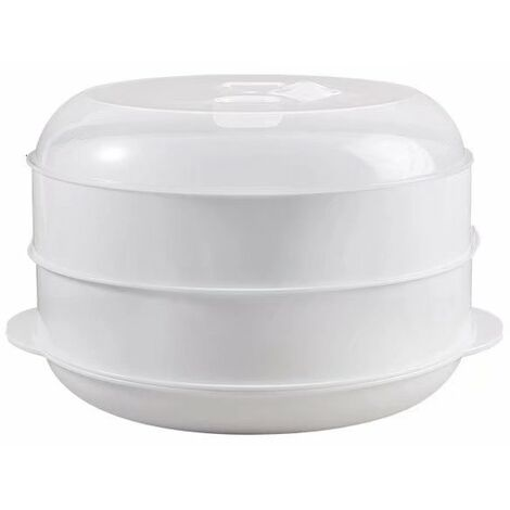 Perle rare Four à micro-ondes, ustensiles chauffants, ustensiles de cuisine, ustensiles de cuisine (grand cuiseur vapeur double couche)