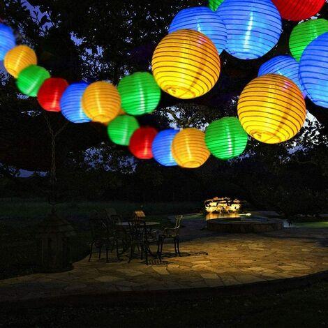 Perle rare LED Solar Fairy Light 6.5m 30pcs Solar Lantern Color [Energy Class A +++]