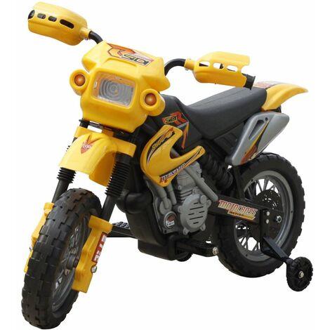 Perle rare Moto électrique pour enfants Jaune
