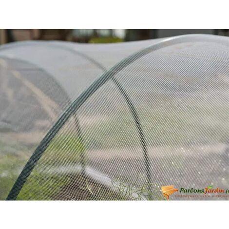 Perle rare Nature Filet anti-insectes 2x10 m Transparent
