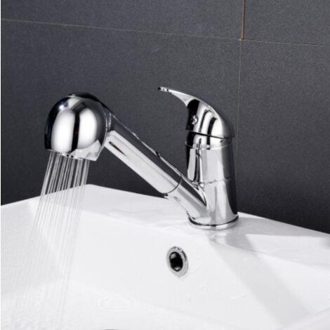 Perle rare Robinet Accessoires de cuisine Tous les robinets coulissants en cuivre évier de cuisine évier robinet chaud et froid