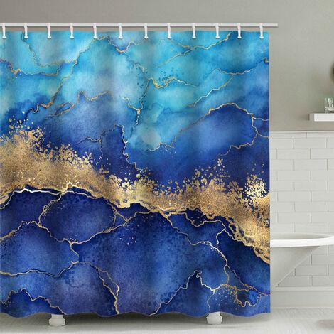 Perle rare salle de bain mercure étanche douche rideau rideau rideau rideau de douche 180x180cm