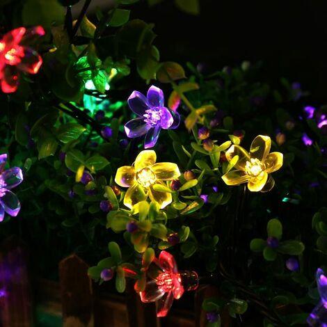 Perle rare Solar Garland Outdoor Christmas Lights 7m 50 Color Lights