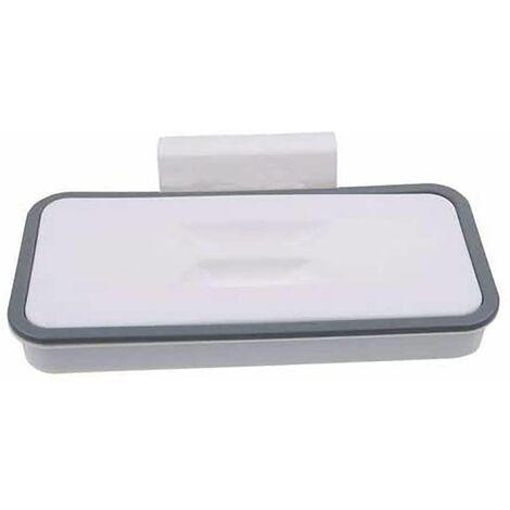 Perle rare Support pour sac poubelle avec clip de fixation pour tiroir/porte/meuble, idéal pour camping-car, voyages, maison, cuisine, tri sélectif