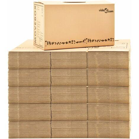 Perle Rare Umzugskartons XXL 100 Stk. 60×33×34 cm