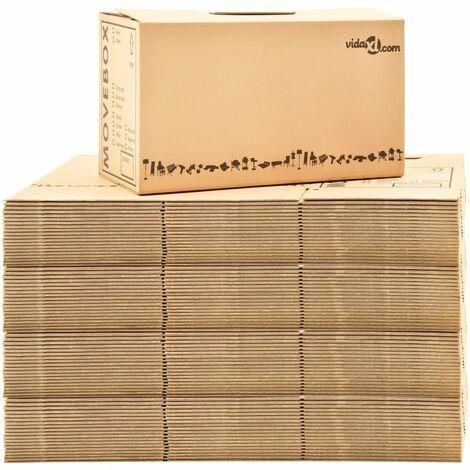 Perle Rare Umzugskartons XXL 80 Stk. 60×33×34 cm