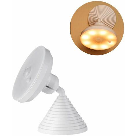 Perle rare Veilleuse à induction du corps humain veilleuse intelligente mère et bébé lampe à économie d'énergie lampe de chevet à la maison intelligente