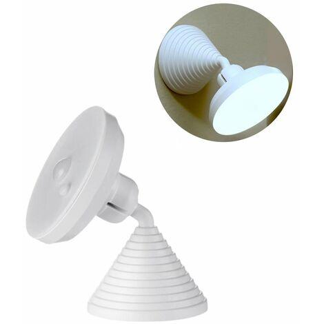 Perle rare Veilleuse à induction du corps humain veilleuse intelligente mère et bébé lampe à économie d'énergie lampe de chevet à la maison intelligente créative est blanche