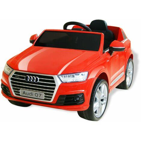 Perle rare Voiture électrique pour enfants Audi Q7 Rouge 6 V
