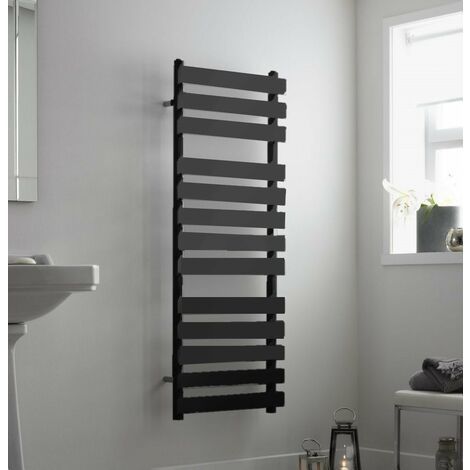 Perlo Anthracite Towelrail (Various Sizes Available)