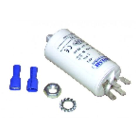 Permanent condensator 5 µf ø30 x lg60 x overall 84 - BAXI : S58209851
