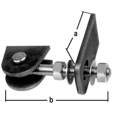 Pernio de portal galvanizado de caliente 2337/KU/M12