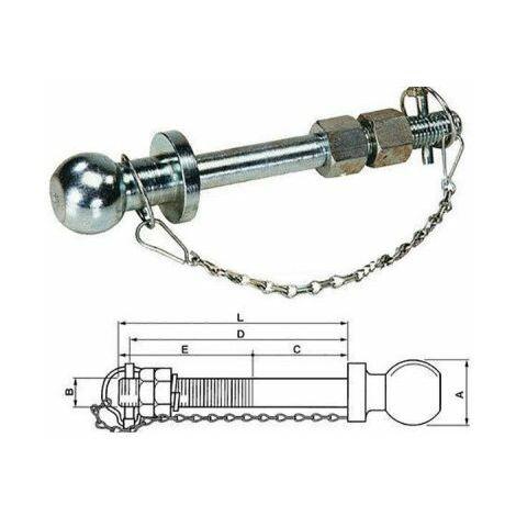 Assortimento durevole di coppiglie in metallo per perno di attacco per sistema di blocco estrattore per coppiglie R