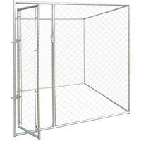 Perrera jaula de exterior 2x2 m