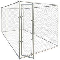 Perrera jaula de exterior 4x2 m