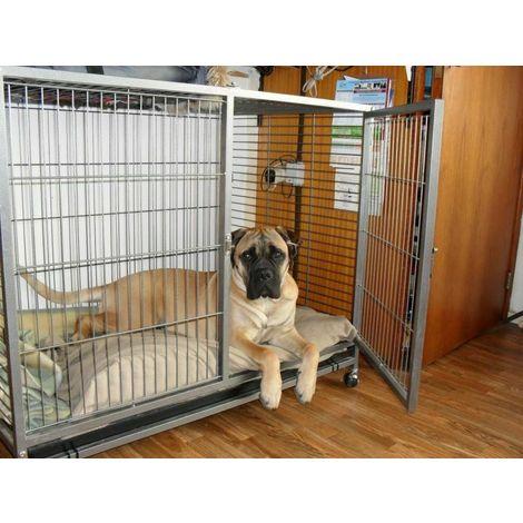 Perrera Jaula portadora para perros 109.5 x 70 x 87.5 cm