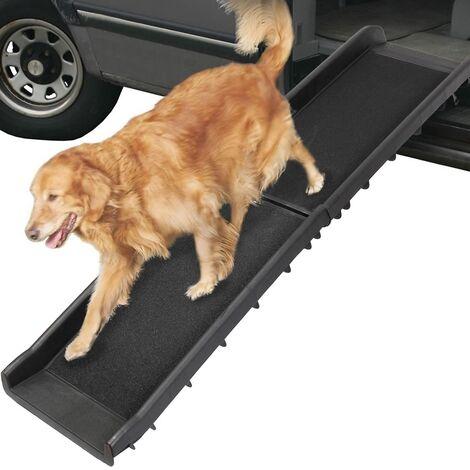 Perro rampa plegable max 90KG telescopio de ayuda para subir y bajar escaleras para perros escalera de animales