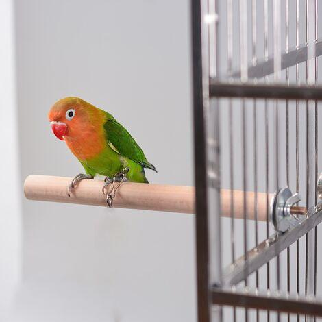 PERROQUET Rod Standing Standing Standing Rod Bird Supplies Bird Cage Parrot Molar Hole Bird Nest Grinding Rod Bird Cage Accessories
